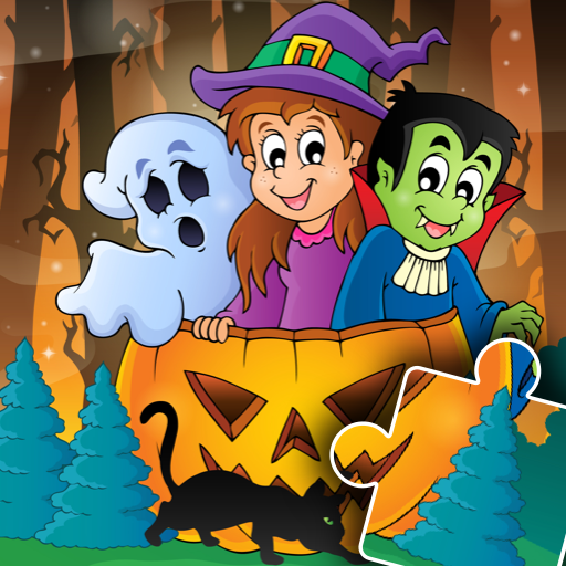 Halloween Puzzle for kids & toddlers 🎃  2021.39 APK MOD (Unlimited Money) Download