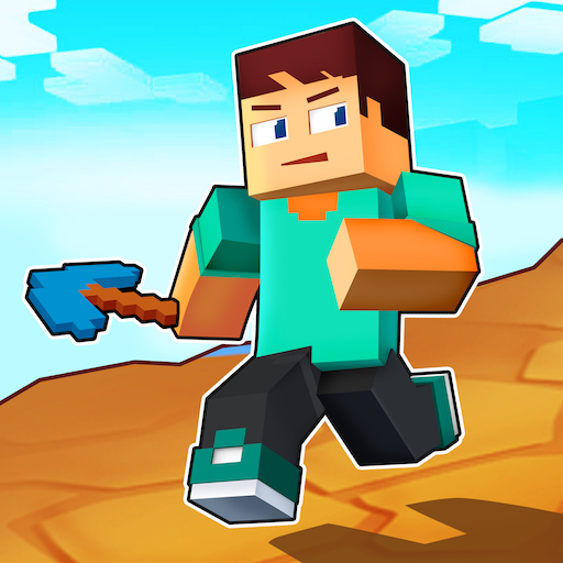 Craft Runner Miner Rush: Building and Crafting  0.0.14  APK MOD (Unlimited Money) Download