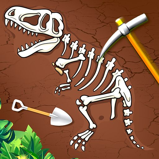 Digging Dino Discovery – Fossil Games  1.15 APK MOD (Unlimited Money) Download